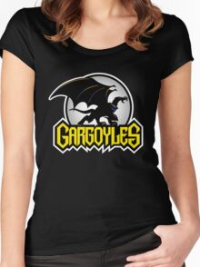 Retro Gargoyles Women's Fitted Scoop T-Shirt