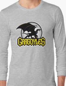 Retro Gargoyles Long Sleeve T-Shirt