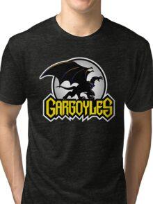 Retro Gargoyles Tri-blend T-Shirt