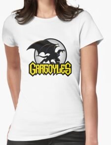 Retro Gargoyles Womens Fitted T-Shirt