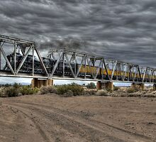 Crossing the Trestle by J. Michael Runyon