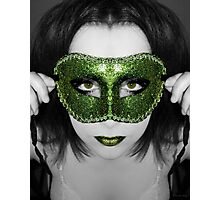 A mask I've worn but the truth will be told Photographic Print