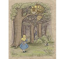 My Neighbor in Wonderland Photographic Print