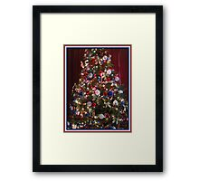 Red, White, and Blue...The Land of The Free- Framed Print