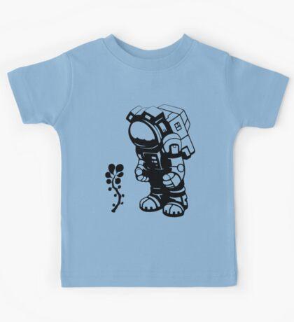 Starlit Astronaut in Black - Kids version Kids Tee