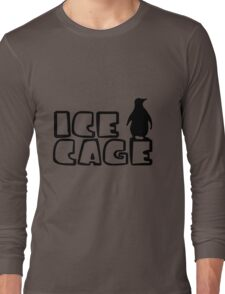 Ice Cage Penguin Long Sleeve T-Shirt