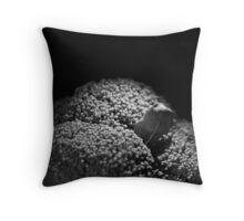 Ominous Broccoli Throw Pillow
