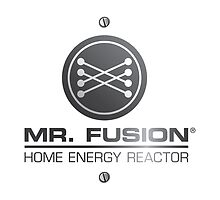 Back to the Future II Mr. Fusion Logo by 0cdc