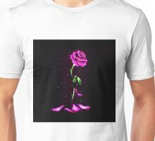 Beauty and The Beast Rose Flower Unisex T-Shirt