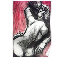 Lovers - The Kiss3 -Rodin Poster