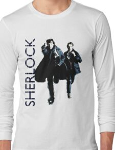 Sherlock Holmes and Doctor Watson! Long Sleeve T-Shirt
