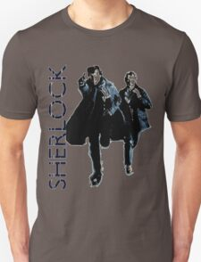 Sherlock Holmes and Doctor Watson! Unisex T-Shirt