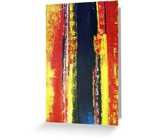 ABSTRACT UNTITLED V Greeting Card