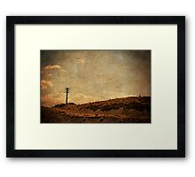 Once Upon A Time On The Other Side Of The World Framed Print