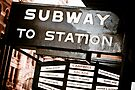 Subway on Flinders by Andrew Wilson
