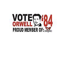 Vote Orwell Photographic Print