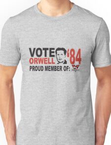 Vote Orwell Unisex T-Shirt