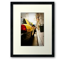 Cab Love Framed Print