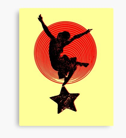 red dancer Canvas Print