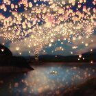 Wish Lanterns for Love by Paula Belle Flores