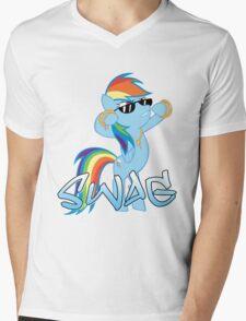 Rainbow Swag Mens V-Neck T-Shirt