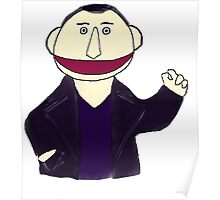 Ninth Doctor Muppet Style Poster