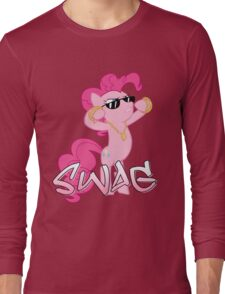 Pinkie Swag  Long Sleeve T-Shirt