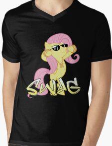 Flutter Swag Mens V-Neck T-Shirt
