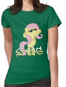 Flutter Swag Womens Fitted T-Shirt