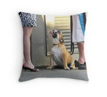 Look at Me, Lady! Look at Me, Too! Throw Pillow