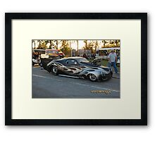 Metal Mayhem Framed Print