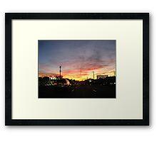 HomeBeforeDark Framed Print