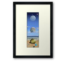 Cosmic Playground Framed Print