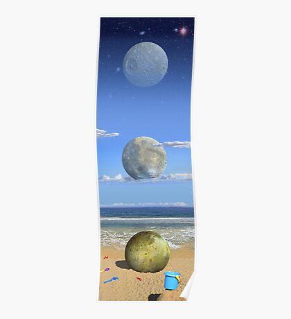 Cosmic Playground Poster