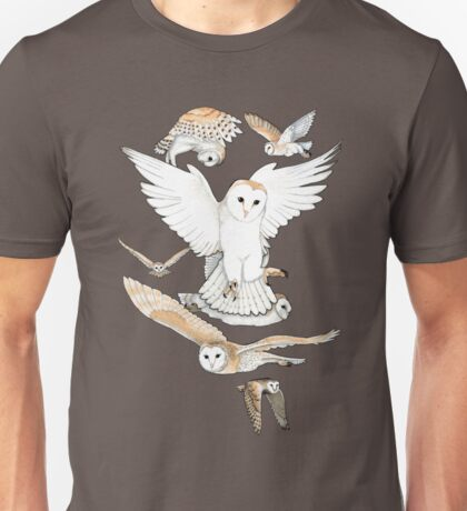 A Parliament of Owls Unisex T-Shirt
