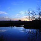 Sunset Blues by JGetsinger
