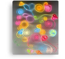 Quilled Paper Series 3  Canvas Print
