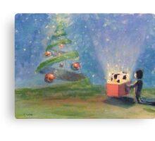 a coob for christmas  Canvas Print