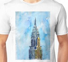 Solitary View Of Chrysler Building New York City Unisex T-Shirt