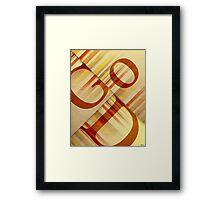 God Framed Print