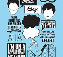 The Fault In Our Stars Collage by laurenschroer