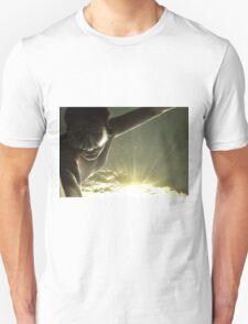 Swimming in the sunlight.....self portrait T-Shirt