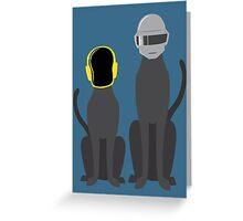 Cat Punk Greeting Card
