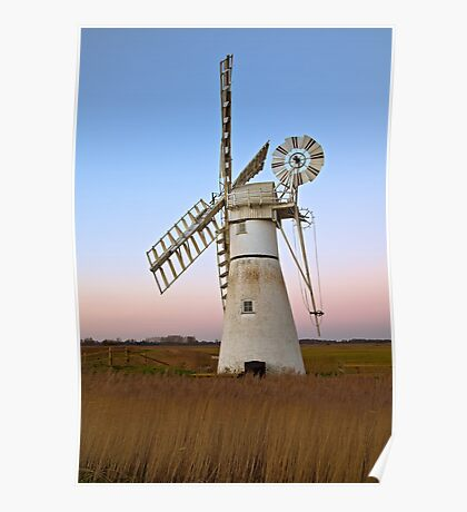 Thurne Mill  Poster