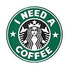 I need a coffee! by John Medbury (LAZY J Studios)