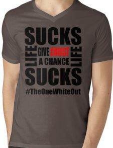 #Whiteout: Give Christ a Chance T-Shirt