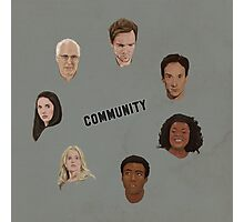 Community Simple Photographic Print