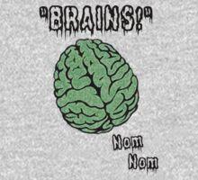 Brains! Zombie Apparel by Lorie Warren