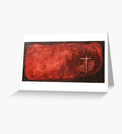 GOLGOTHA Greeting Card