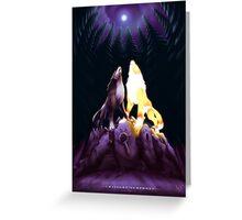Twilight Symphony Greeting Card